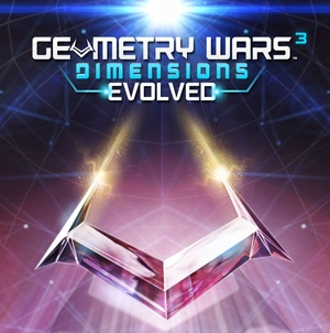 Cover for Geometry Wars 3: Dimensions.