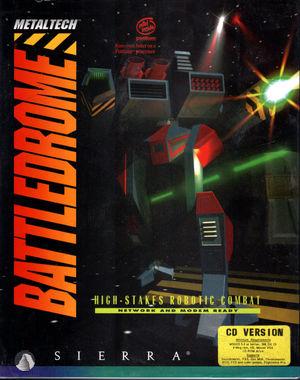 Cover for Metaltech: Battledrome.