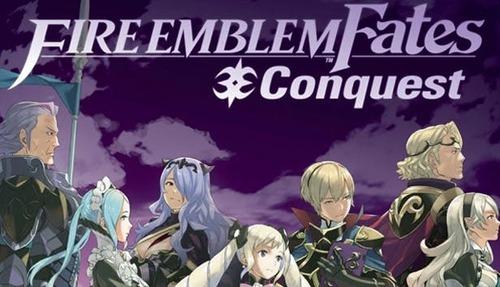 Cover for Fire Emblem Fates: Conquest.