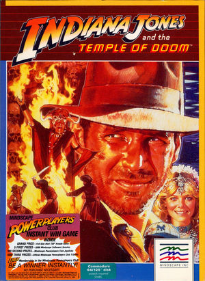 Cover for Indiana Jones and the Temple of Doom.