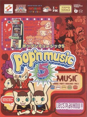 Cover for Pop'n music 5.