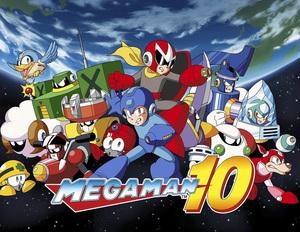 Cover for Mega Man 10.