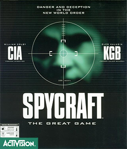 Cover for Spycraft: The Great Game.