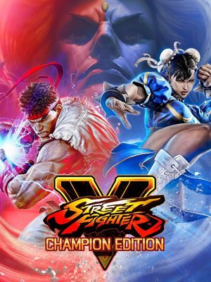 Cover for Street Fighter V: Champion Edition.