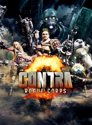 Cover for Contra: Rogue Corps.