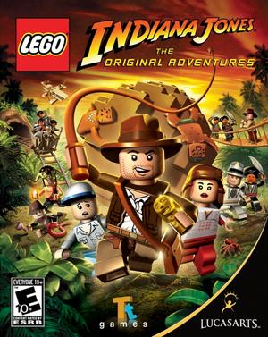 Cover for Lego Indiana Jones: The Original Adventures.