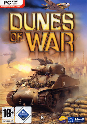 Cover for Dunes of War.