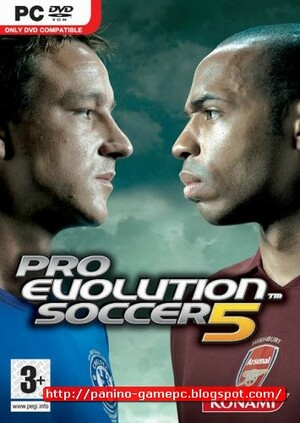 Cover for Pro Evolution Soccer 5.