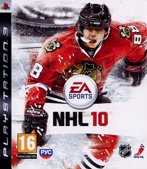 Cover for NHL 10.