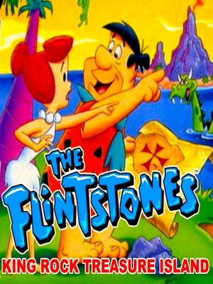 Cover for The Flintstones: King Rock Treasure Island.
