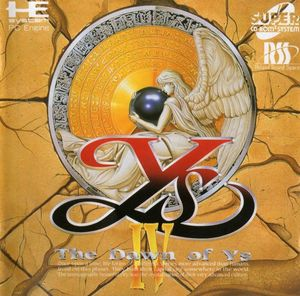 Cover for Ys IV: The Dawn of Ys.