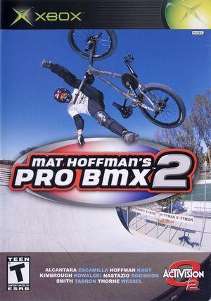 Cover for Mat Hoffman's Pro BMX 2.