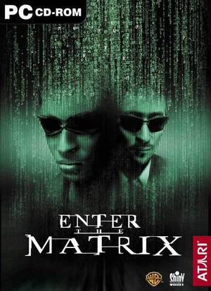 Cover for Enter the Matrix.