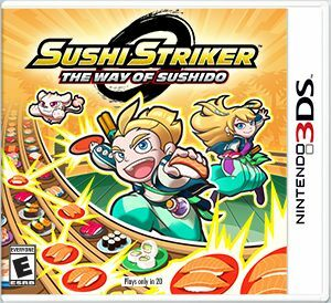 Cover for Sushi Striker: The Way of Sushido.