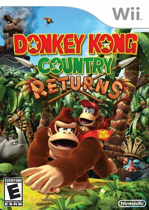 Cover for Donkey Kong Country Returns.