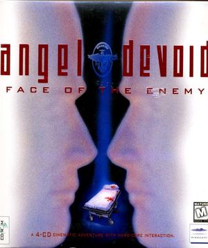 Cover for Angel Devoid: Face of the Enemy.
