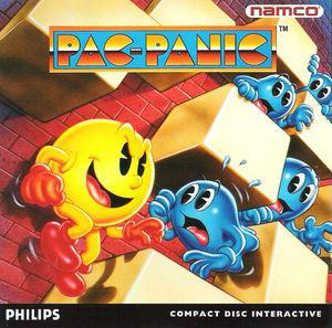 Cover for Pac-Attack.