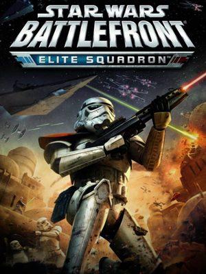 Cover for Star Wars Battlefront: Elite Squadron.