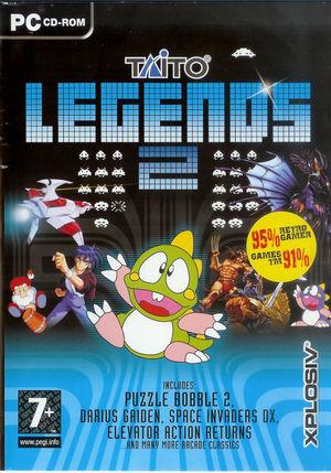 Cover for Taito Legends 2.