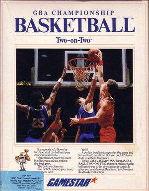 Cover for GBA Championship Basketball: Two-on-Two.
