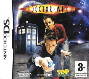 Cover for Top Trumps: Doctor Who.