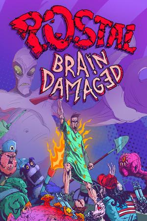 Cover for POSTAL Brain Damaged.