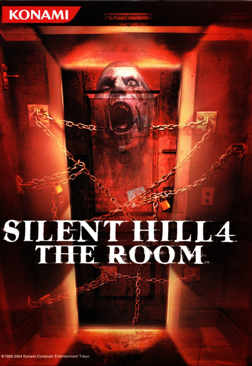 Cover for Silent Hill 4: The Room.