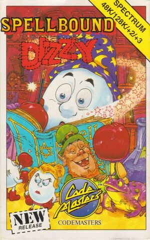 Cover for Spellbound Dizzy.