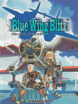 Cover for Blue Wing Blitz.