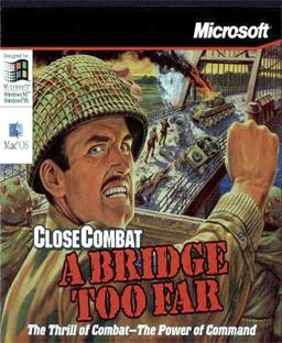 Cover for Close Combat: A Bridge Too Far.