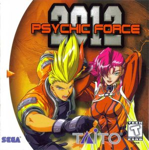 Cover for Psychic Force 2012.