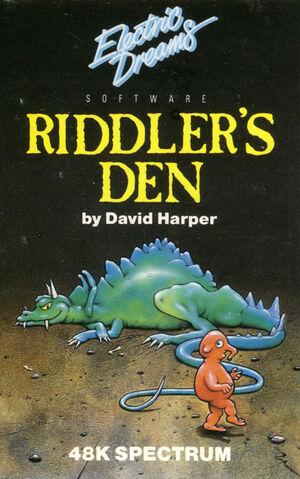 Cover for Riddler's Den.