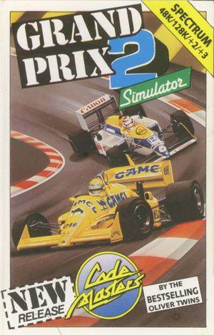 Cover for Grand Prix Simulator 2.