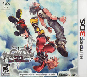 Cover for Kingdom Hearts 3D: Dream Drop Distance.