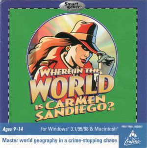 Cover for Where in the World Is Carmen Sandiego?.