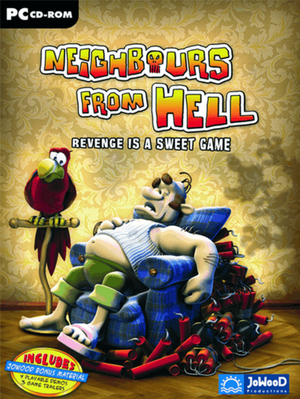 Cover for Neighbours from Hell.