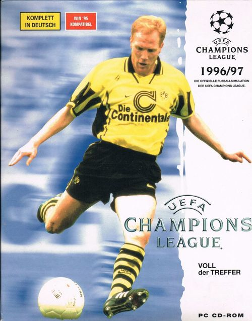 Cover for UEFA Champions League 1996/97.