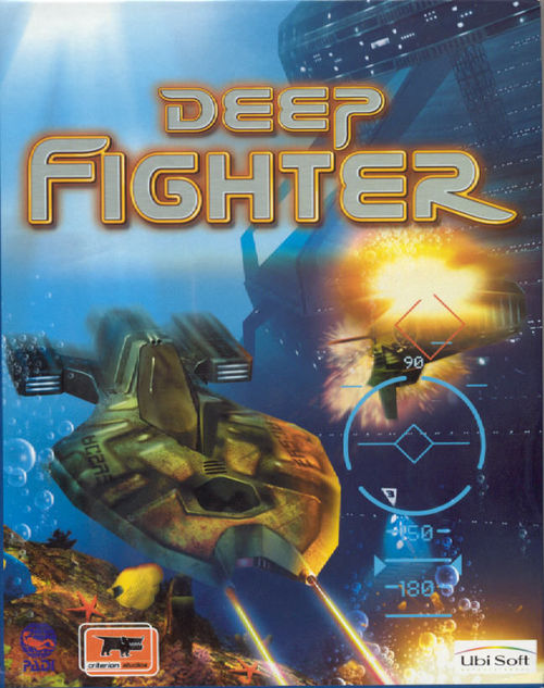 Cover for Deep Fighter.