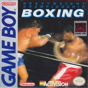 Cover for Boxing.