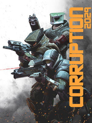 Cover for CORRUPTION 2029.