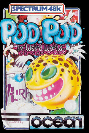 Cover for Pud Pud in Weird World.