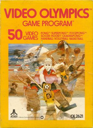 Cover for Video Olympics.