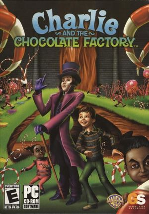 Cover for Charlie and the Chocolate Factory.