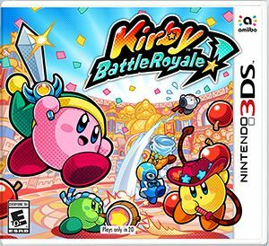 Cover for Kirby Battle Royale.