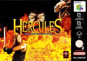 Cover for Hercules: The Legendary Journeys.