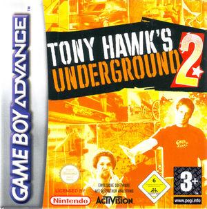 Cover for Tony Hawk's Underground 2.