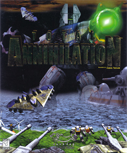 Cover for Total Annihilation.