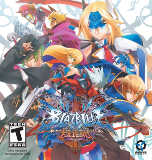 Cover for BlazBlue: Continuum Shift.