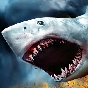Cover for Sharknado: The Video Game.