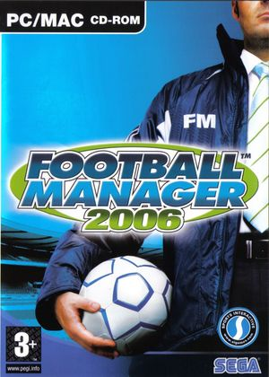 Cover for Football Manager 2006.